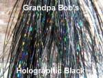 Holographic Flashabou Black